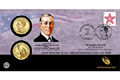 Woodrow Wilson Presidential Coin Cover